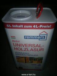 Vékony lazúr 5-liter