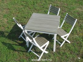 Fa terasz bútor Newton 4 sz.