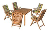 Keményfa kerti bútor akácia 4sz. Solaris