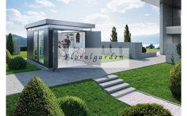 Fém kerti ház hőszigetelt Casanova 4x5m