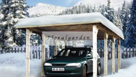 Tirol nyitott garázs, Kocsibeálló 609/3260