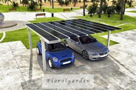 Aluminium dupla garázs