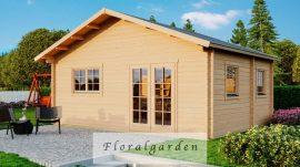 Hétvégi faház Weka703 gerendaház