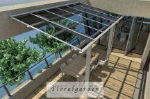 Alumínium terasz tető Veranda